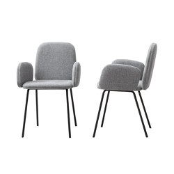 Leda with armrest | Chairs | miniforms