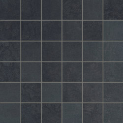 Met-All Mosaico Black | Ceramic mosaics | Ceramiche Supergres