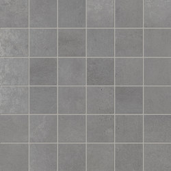 Met-All Mosaico Grey | Ceramic mosaics | Ceramiche Supergres