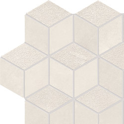 Met-All Mosaico Dado Dek Light | Ceramic mosaics | Ceramiche Supergres