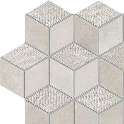 Met-All Mosaico Dado Dek Pearl | Mosaici ceramica | Ceramiche Supergres