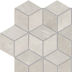 Met-All Mosaico Dado Dek Pearl | Mosaïques céramique | Ceramiche Supergres