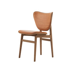 Elephant Dining Chair, Smoked / Vintage Leather Cognac 21000 | Sillas | NORR11