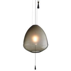Limpid Light, smoke, medium | Suspended lights | Hollands Licht