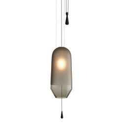 Limpid Light, smoke, small | Suspended lights | Hollands Licht