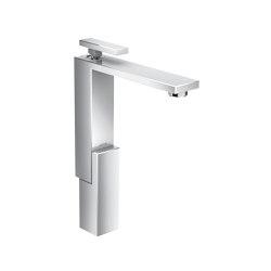 AXOR Edge | Single lever basin mixer 280 with push-open waste set | Grifería para lavabos | AXOR
