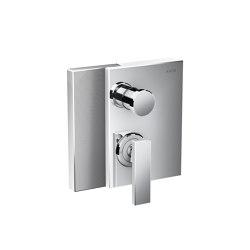 AXOR Edge | Single lever bath mixer for concealed installation - diamond cut | Rubinetteria doccia | AXOR