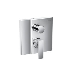 AXOR Edge | Single lever bath mixer for concealed installation with integrated security combination according to EN1717 | Rubinetteria doccia | AXOR