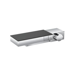 AXOR Edge | Thermostat for 2 functions for exposed/concealed installation | Shower controls | AXOR