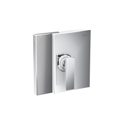 AXOR Edge | Single lever shower mixer for concealed installation - diamond cut | Shower controls | AXOR