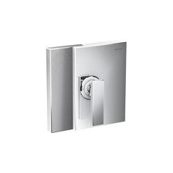 AXOR Edge | Single lever shower mixer for concealed installation - diamond cut | Rubinetteria doccia | AXOR