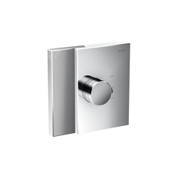 AXOR Edge | Thermostat highflow for concealed installation - diamond cut | Shower controls | AXOR