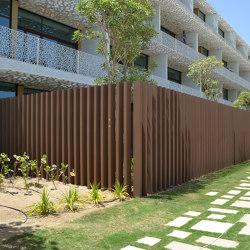 Ecolegno louver | Fences | Saimex