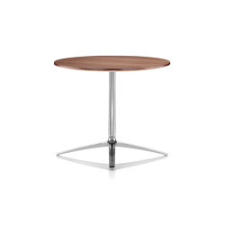 Axis Dining Table - Walnut Top | Bistro tables | Boss Design