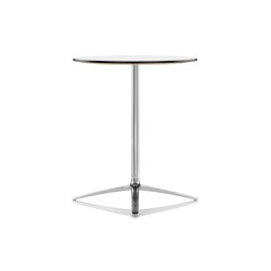 Axis Poseur High Table - White MFC Top | Standing tables | Boss Design