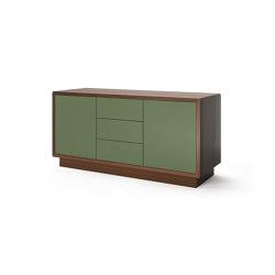 Credenza - 2 door, 3 drawer with plinth base | Aparadores | Boss Design