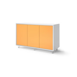 Credenza - 3 door on wire feet | Credenze | Boss Design