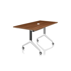 Deploy Flip Top Table - Rectangle | Tables collectivités | Boss Design