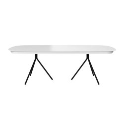 Ottawa table OV03 with supplementary tabletop | Mesas comedor | BoConcept