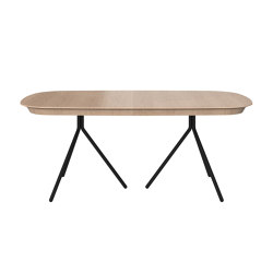 Ottawa Table OV04 with supplementary tabletop | Dining tables | BoConcept