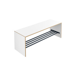 Bench with shoe rack | M20.05.003 | Panche infanzia | HEWI