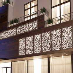 Exterior Applications - Laimstone Laser Cut Wall | Lamiere metallo | Moz Designs