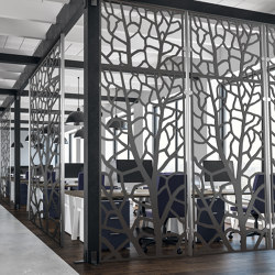 The Laser Cut Collection - Tree Room Divider | Lamiere metallo | Moz Designs