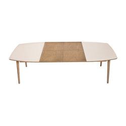 Extendable dinner table NAM-NAM 96x144/244 | Tavoli pranzo | Radis Furniture