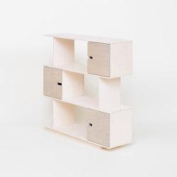 Shelf PIX 3 levels | Shelving | Radis Furniture