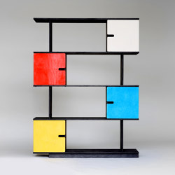 Shelf PIX 4 levels | Shelving | Radis Furniture