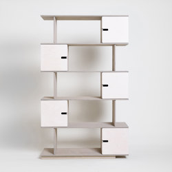 Shelf PIX 5 levels | Scaffali | Radis Furniture