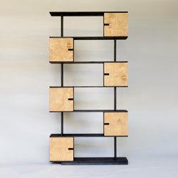 Shelf PIX 6 levels | Shelving | Radis Furniture