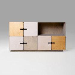 Sideboard PIX 2x4 | Credenze | Radis Furniture