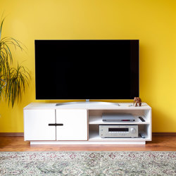 TV-stand PIX with 2 doors | Multimedia sideboards | Radis Furniture