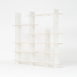 Shelf Criss-Cross small | Étagères | Radis Furniture