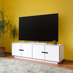 TV-stand PIX with 4doors | Multimedia sideboards | Radis Furniture