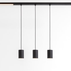Pista Smart 48 Tubed Suspension Track | Suspended lights | Modular Lighting Instruments