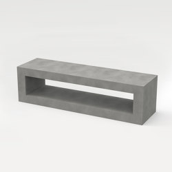 angulus sedes (without wood overlay, open cube) | Benches | CO33 by Gregor Uhlmann
