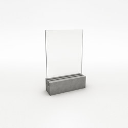 Beton | Concrete Table Display | Menu Holder | Display stands | CO33 by Gregor Uhlmann