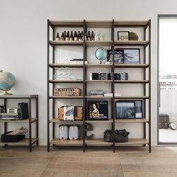 Tribeca | Shelving | Veneta Cucine