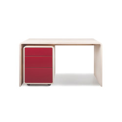 Desk TreDue Sfera | Pedestals | reseda
