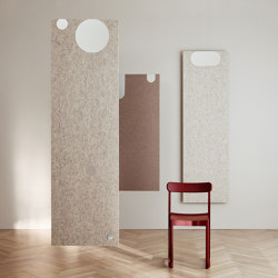Combo Deluxe | Sound absorbing suspended panels | Abstracta
