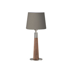 Conico walnut | Table lights | HerzBlut
