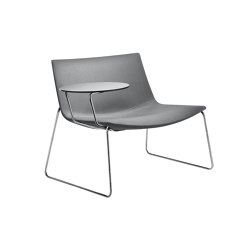 Catifa 80 | Sled with Tablet | Armchairs | Arper