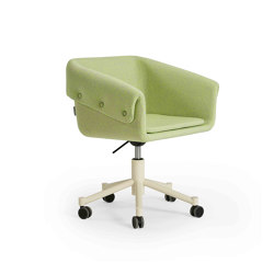 Collar Chair With Wheels | Sillas | Sancal