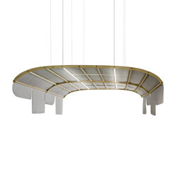Tartana Acoustic Dome With Leds | Paneles fonoabsorbentes de suspensión | Sancal