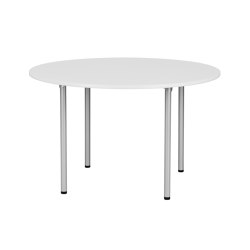 RBM Eminent Round White Pro | Side tables | Flokk