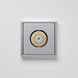 Plug & Light | LS 990 Ligtht socket aluminium | Sockets | JUNG