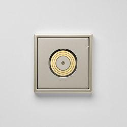 Plug & Light | LS 990 Light socket stainless steel | Sockets | JUNG
