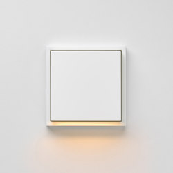 Plug & Light | LS 990 LED-Wall luminaire white | Wall lights | JUNG